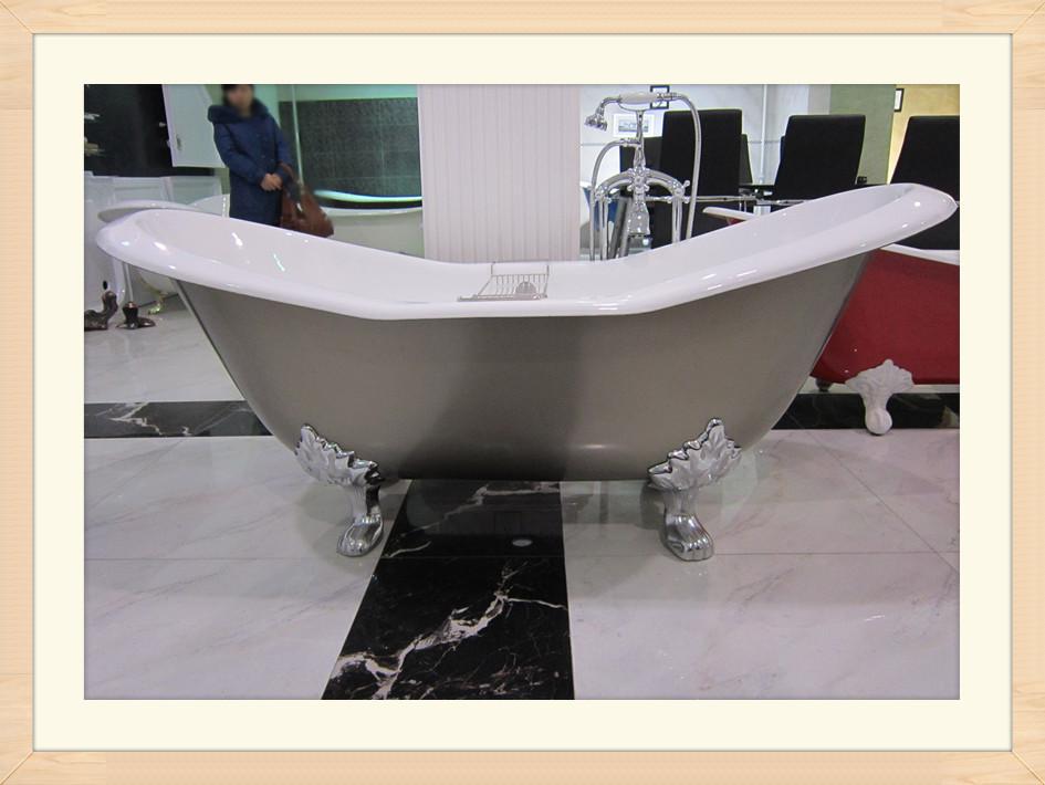 slipper tub cast iron